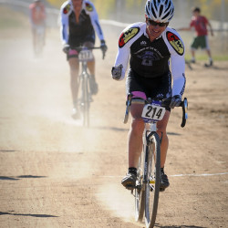 cyclocross dust